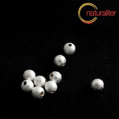 Kovový korálek 5mm - hvězdný prach 10ks