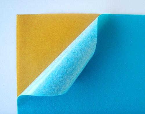 Samolepicí plsť barva č. 3 - tyrkysová