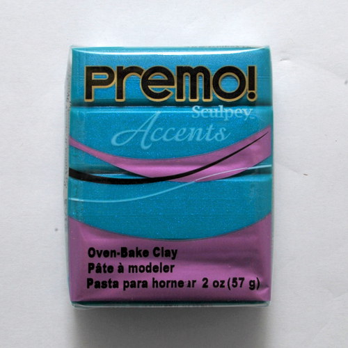 PREMO / Tyrkysová perleťová (5038)