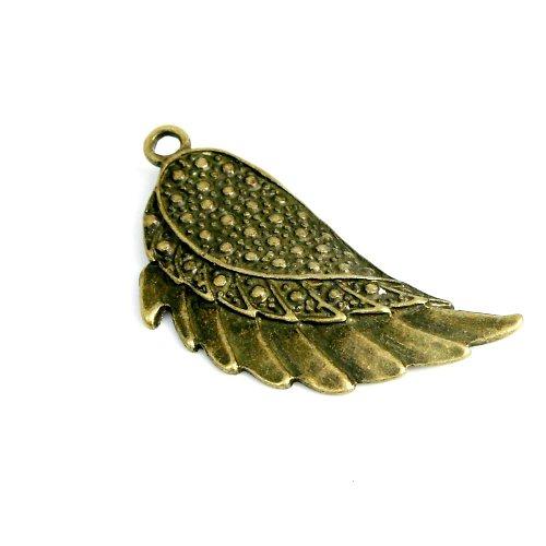 Přívěsek - velké bronzové křídlo, 4 cm