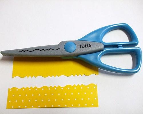 Okrasné nůžky Julia