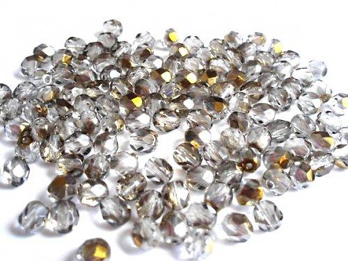Broušená kulička krystal valentinit 6mm