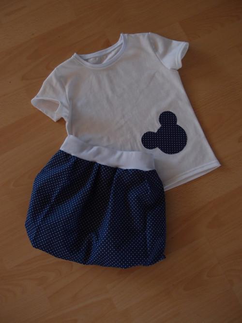 balonová sukýnka a tričko