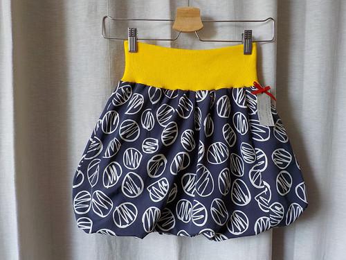Detská balonová sukně - šedá