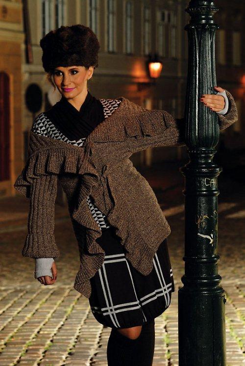 Kabátek GRETA kolekce GLAMOUR