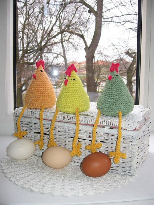 Beseda o ceně vajec  - dekorace.