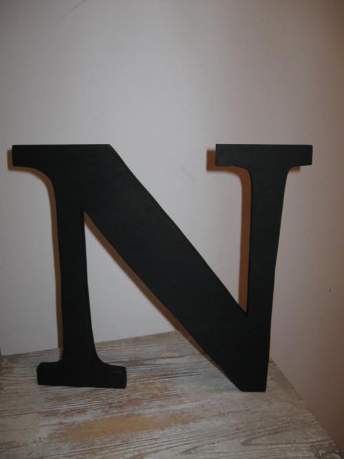 Dřevěná dekorace - písmeno 25cm