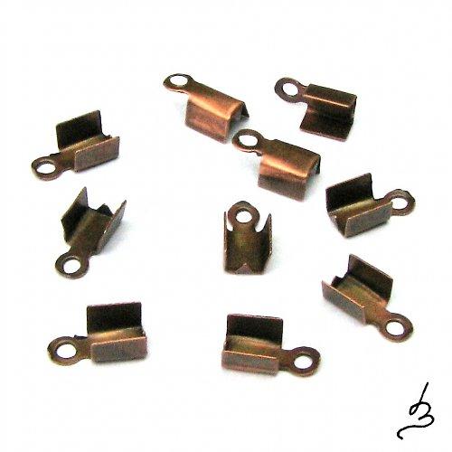 Koncovky na kůži SM 2,5x8 mm, 20 ks