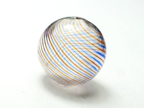 skleněný foukaný korálek 18mm
