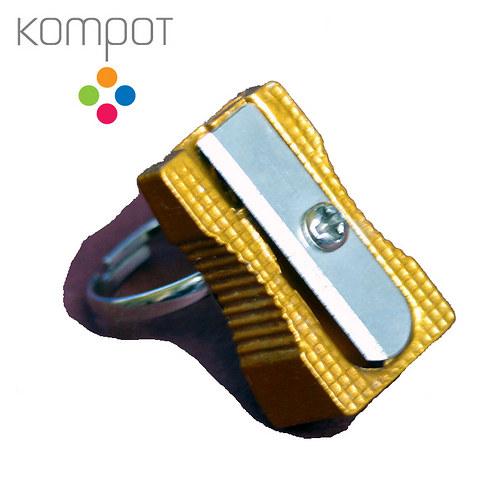 OŘEZÁVÁTKO prsten :: žlutý
