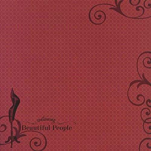 Lady COUTURE scrapbook čtvrtka 12x12 emboss