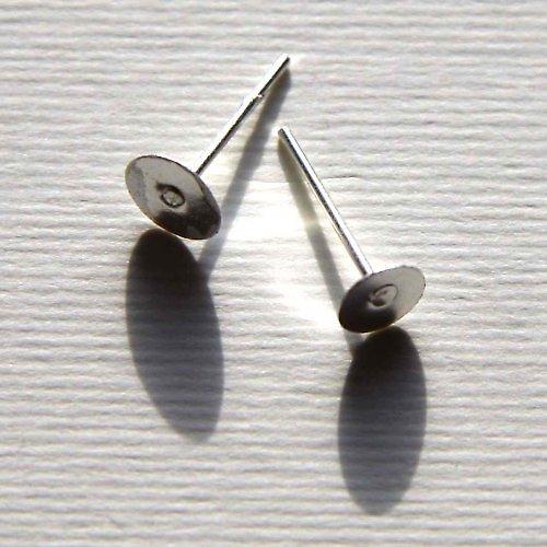 Puzetky 6mm - 10ks - Stříbrné