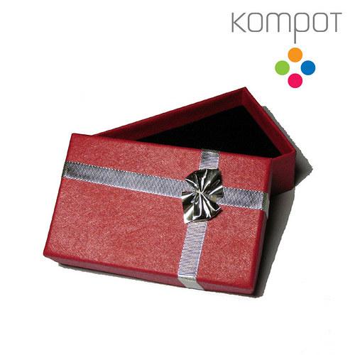 Dárková krabička - střední :: červená
