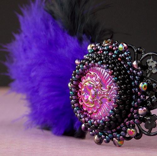 Lady Karneval - čelenka...