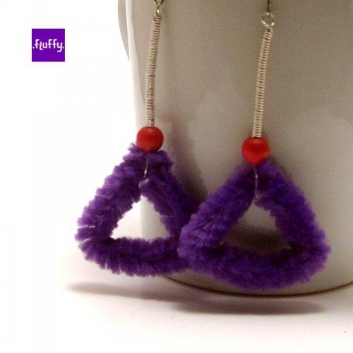 Fluffy Purple