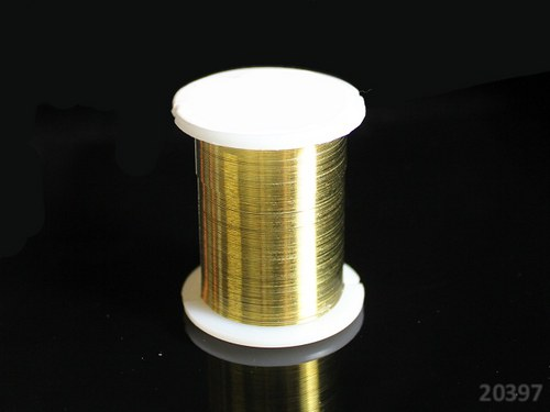 20397-B30 Bižuterní drát 0.3mm ZLATÝ, cívka 10m