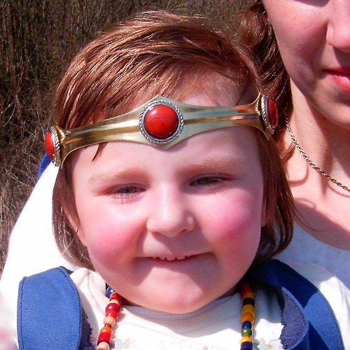 princeznička  (čelenka jaspis)