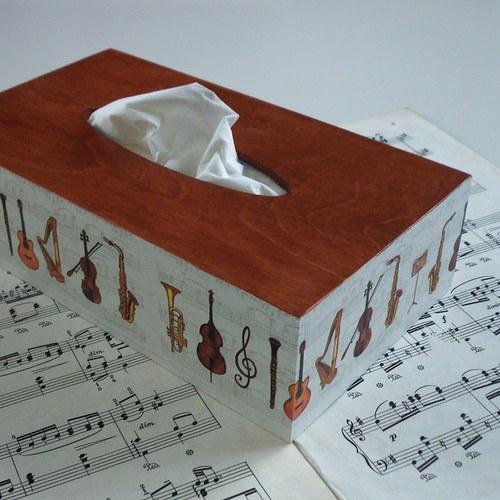 Krabička do hudebního salónu