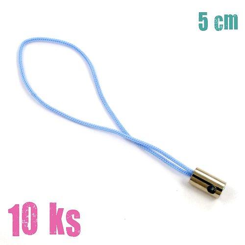 Světle modrá poutka - 10 ks