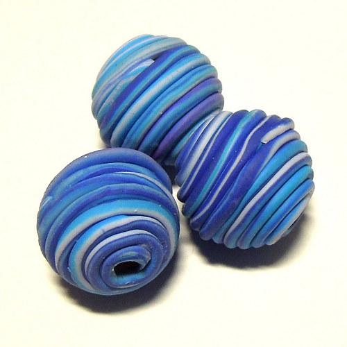 Tornádo - blue cobalt - 14 mm