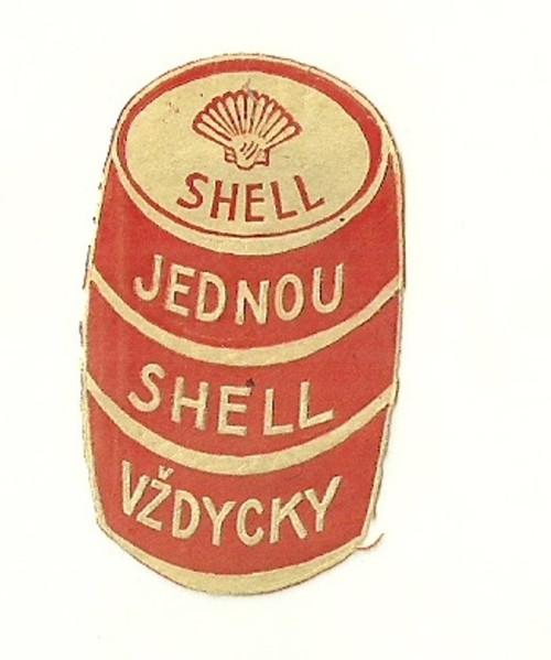 Zálepka Shell jednou Shell vždycky