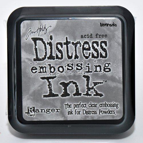 Embossovací polštářek Distress / Bezbarvý
