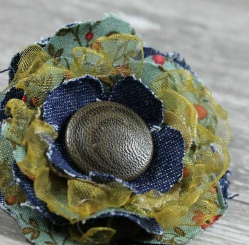 Scrap flower I.