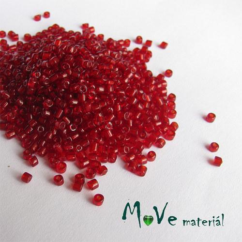Český rokajl červený sekaný cca 2,2mm 20 g