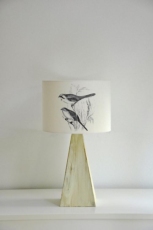 Stínítko na lampu V trávě - stolní/stropní