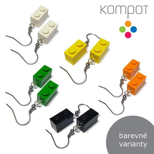 LEGO KOSTKY 2 :: více barev (chirurgická ocel)