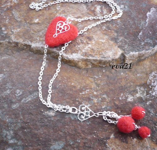 Nejen Valentýnský náhrdelník