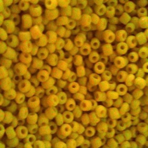 Korálky 160g - žlutá