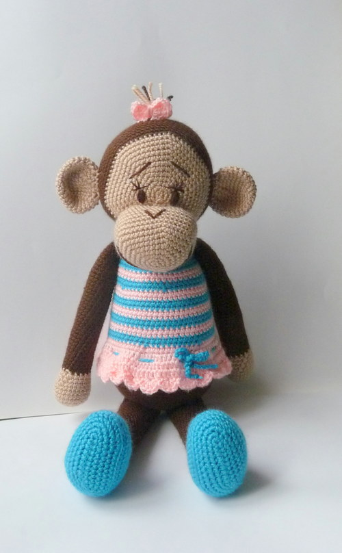 Opička Mašlička - na objednávku