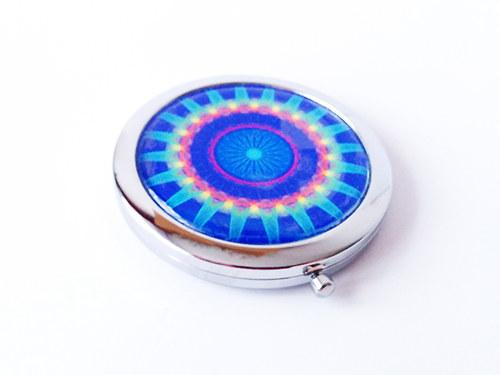 Kosmetické zrcátko s Magickou mandalou 2