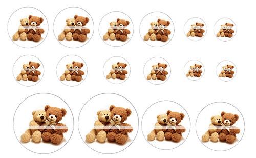 Návrh na pryskyřici - Medvědi č.2