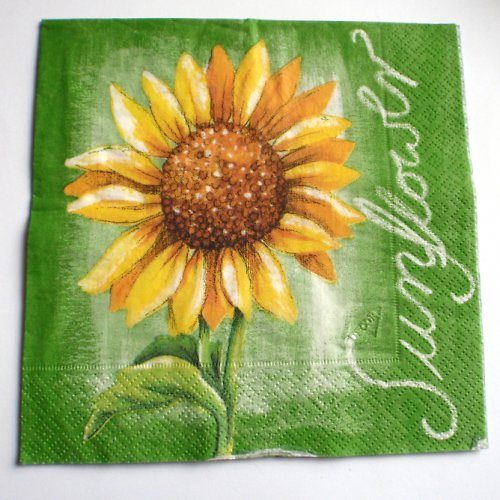 Ubrousek slunečnicový