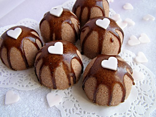 Luxusní šumivé bomby - čokoládové