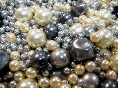 1404030/Mix perel šedo/smetanových, 50 g