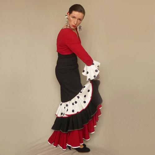 Olé - flamenkový kostým