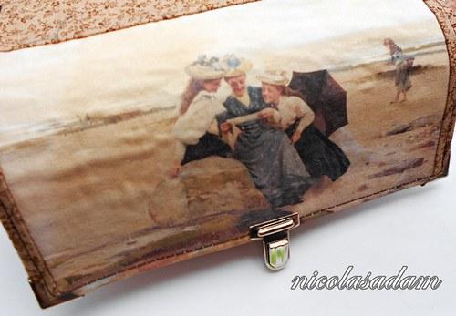 Peněženka 19x10,5cm- 8 karet