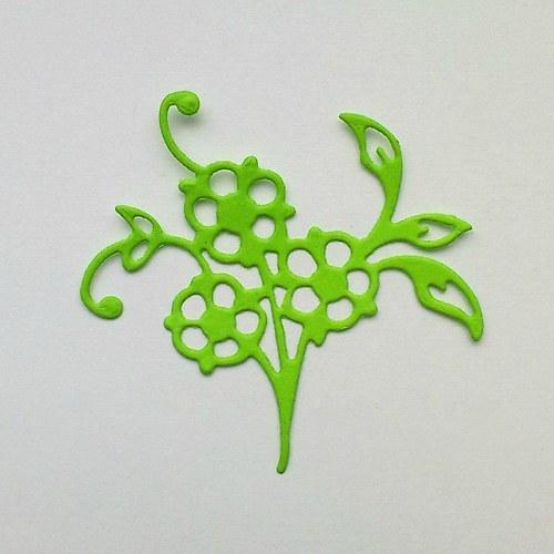 Výsek -  Květina poměnka
