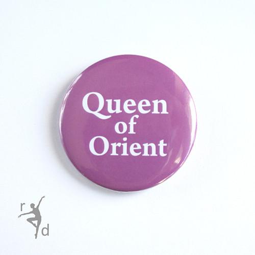 Placka QUEEN OF ORIENT (odznak)