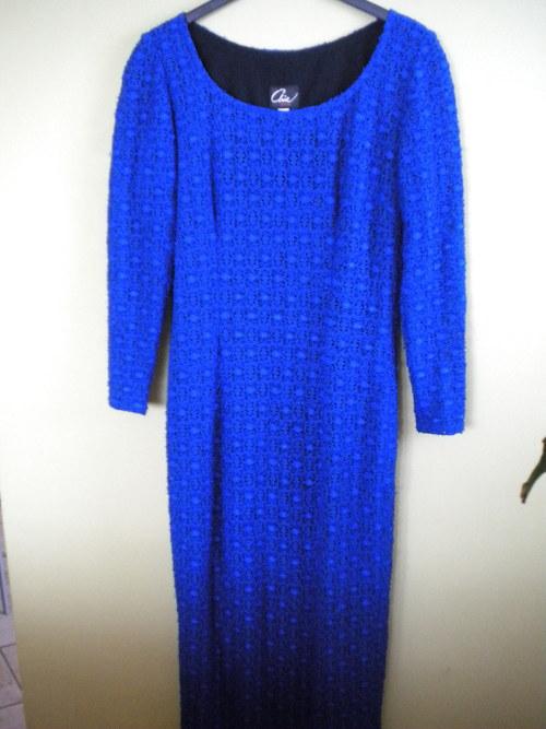 Krajkové společenské šaty vel. 36, 38