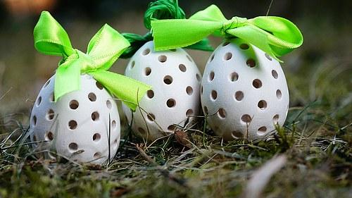 Velikonoční děrované vejce MALÉ