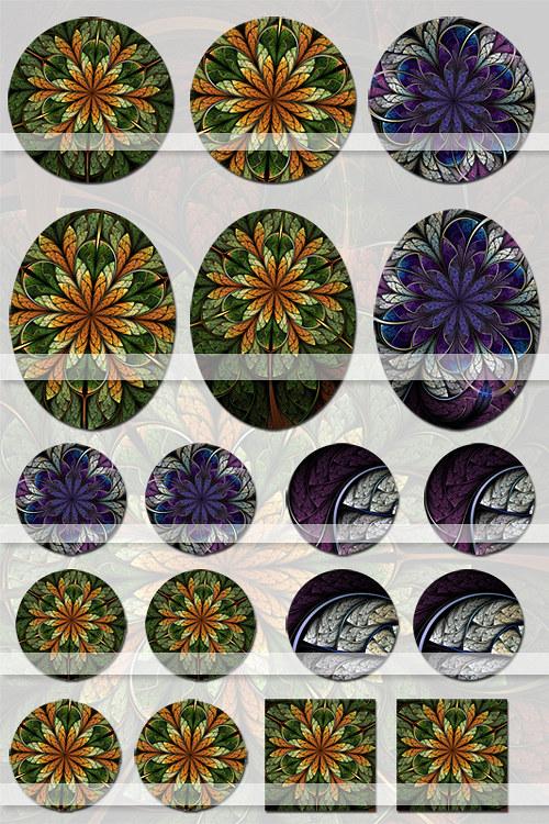 Lesní květy (Motivy)