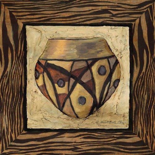 Reprodukce - tisk - váza č.3 15x15cm - 9474G