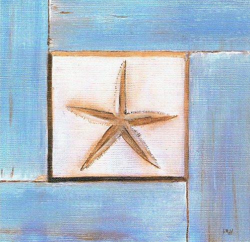 Reprodukce - tisk - Hvězda 15x15cm - 0279A