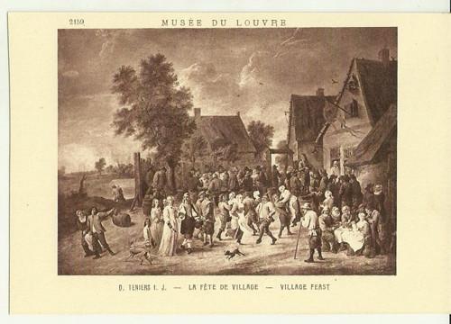 Umělecká pohlednice D.Teniers