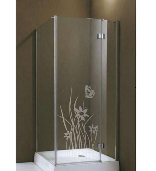(184g) Nálepka na sprchovací kút