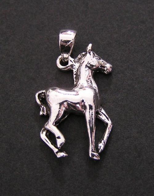 Kůň - stříbrný přívěšek